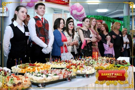 Фуршет в Кишиневе от ресторана Banket Hall!